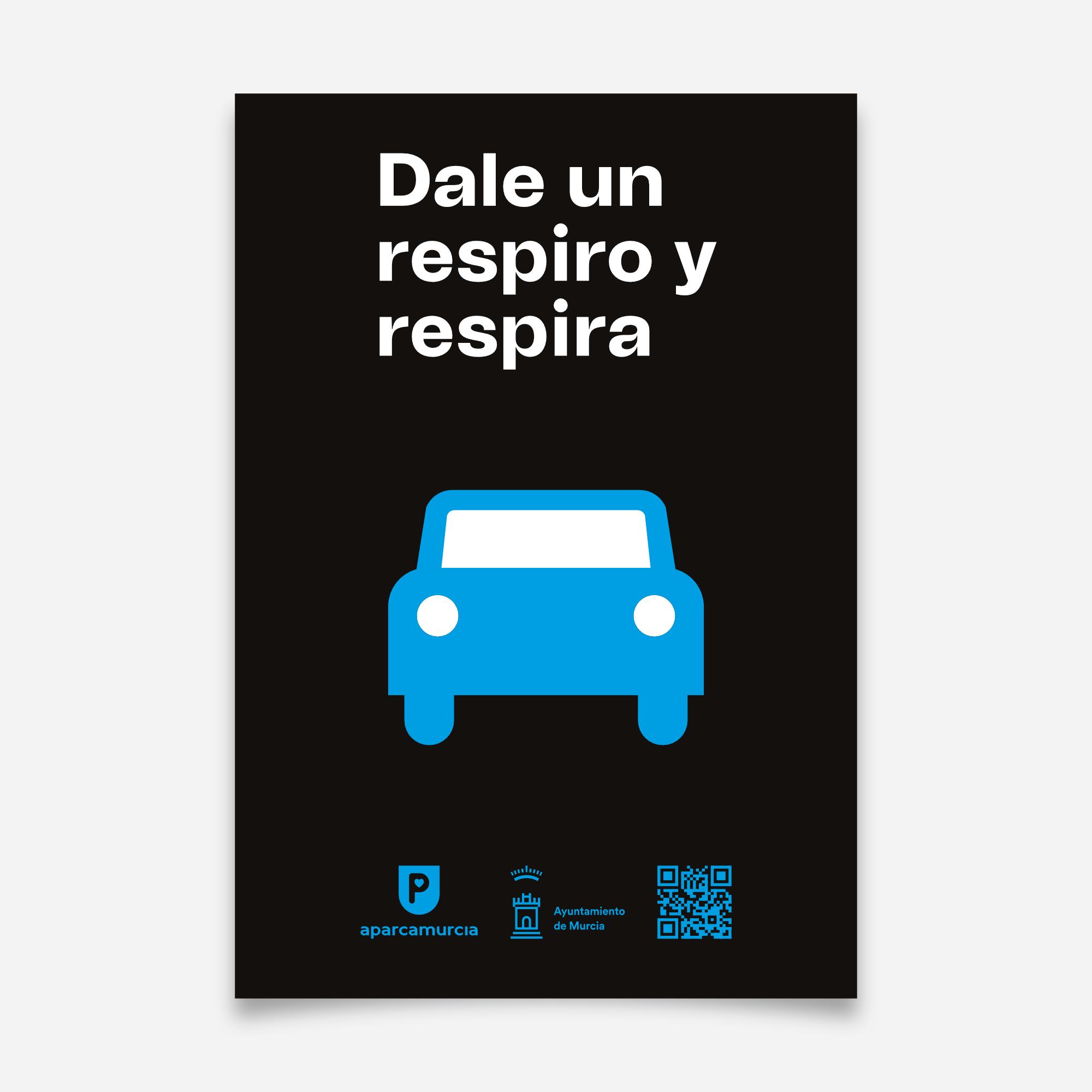 Cartel campaña Aparcamurcia 2021